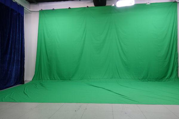 綠幕攝影區域